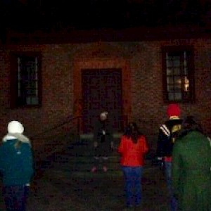 Haunting Secretary Office Photographed on Ghost Tour in Williamsburg VA