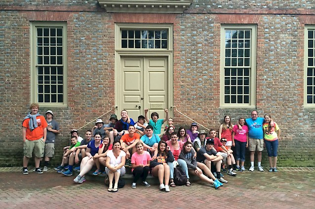 Williamsburg Ghost Tour School Group